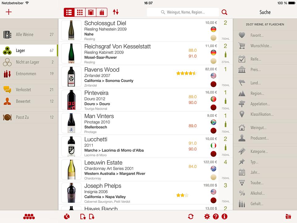 Vinocell The Wine Cellar App